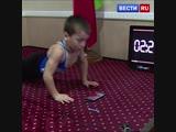 4 тысячи отжиманий под мультики: пятилетний силач готов повторить рекорд для Книги рекордов Гиннесса