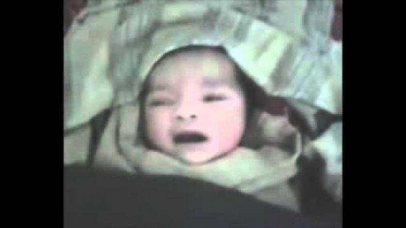 Новорожденный ребенок говорит искренно Аллах а ты