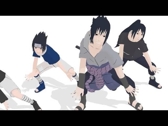 [MMD] 4 Sasuke - Shake it off (Naruto)
