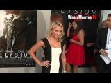 'Hannah Montana' Emily Osment arrives at Elysium Los Angeles Film premiere Redcarpet