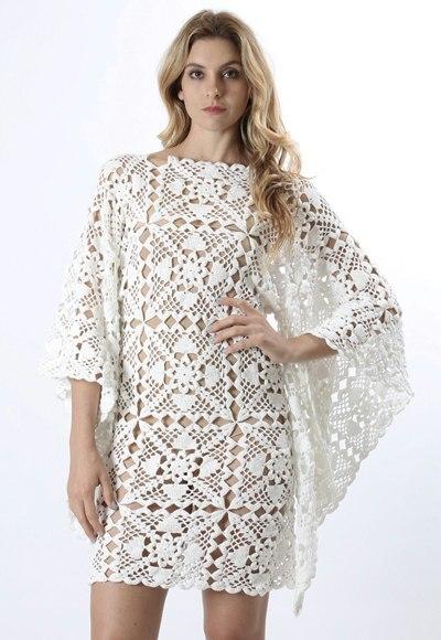 Платье из мотивов (6 фото) - картинка
