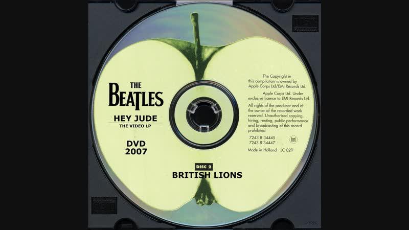 Beatles Hey Jude The Video LP DVD2