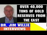 Jim Willie Interview July 01 2018 OVER 40,000 TONS OF GOLD RESERVES FROM THE EAST