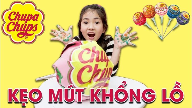 Đồ Chơi Trẻ Em Kẹo Mút Khổng Lồ - Bài Học Cho Bé ♥ Xam Xam TV