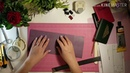 Скрапбукинг/Мастер класс/Легкая обложка на паспорт/своими руками/переплетный кожзам