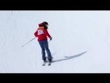 Лыжница проехалась без трюков там, где нужны трюки