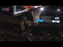LeBron James' crazy high reverse alley oop from Isaiah Thomas vs Warriors
