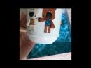Набор детской посуды «мимимишки»