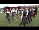 Шотландский танец Фестиваль на Ярославово Дворище Великий Новгород