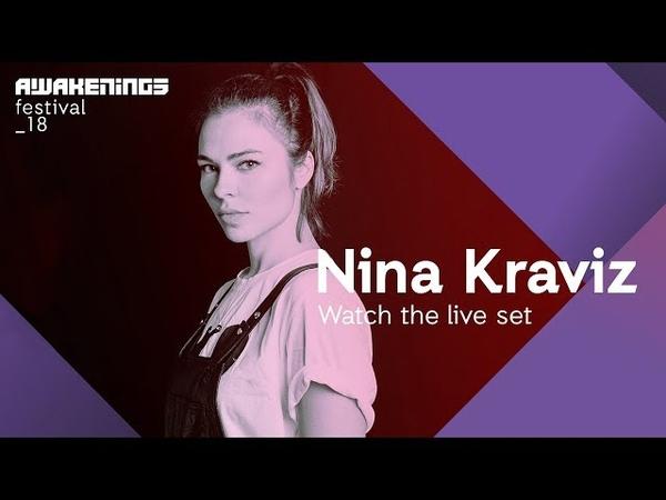 Awakenings Festival 2018 Saturday Live set Nina Kraviz @ Area Y