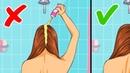 9 Советов Как Сохранить Чистоту и Объем Волос Дольше