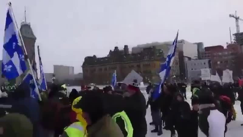 В Канаде протестующие требовали отставки премьер-министра и выражали недовольство политикой миграции.