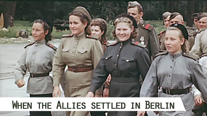 When the Allies settled in Berlin 1945