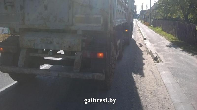 """В Пружанском районе под колесами """"МАЗа"""" погиб велосипедист"""