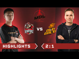 Team Empire vs Old But Gold Highlights