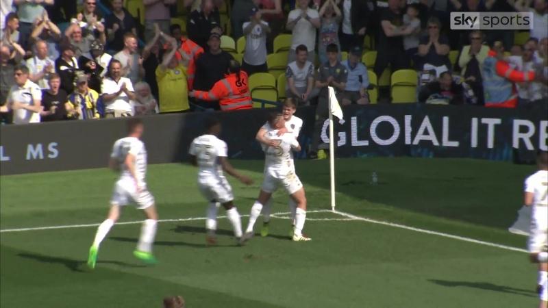Лидс 1:0 Барнсли. Первый гол Тома Пирса в карьере!