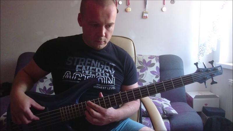 David Guetta Sia - Flames (bass cover)