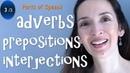 Parts of Speech Adverbs, Prepositions, Interjections - English Grammar 3/3
