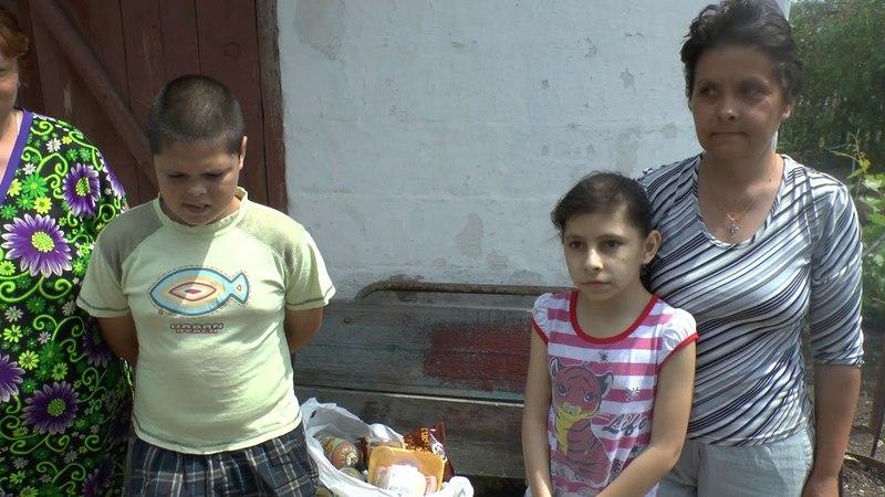 Помощь жительницы Италии деткам на передовой