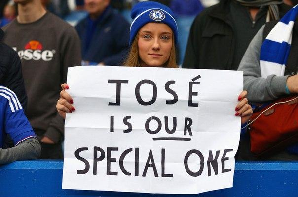 Фанаты Челси никогда не забудут то, что Жозе сделал для клуба!?