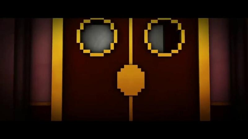 Песня Бенди и чернильная машина Build our machin Анимация MineCraft[RUS]