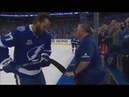 Victor Hedman Hilarious But Dangerous Pregame Routine