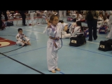 Laura - 7 years old girl - Martial Arts Kids Weapons Form