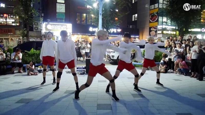 A.C.E(에이스) - 선인장(CACTUS) Busking in Hongdae