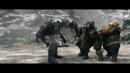 Бифур избавляется от топора в своей голове Вырезанная сцена Хоббит Битва Пяти Воинств