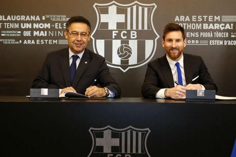 ⚡ Нападающий «Барселоны» Лионель Месси выступил с критикой президента клуба Хосепа Марии Бартомеу.