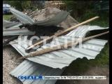 Смерч в Городце разметал дома и крыши, а людей отрывал от земли