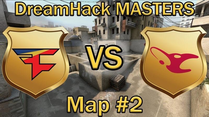 ДАСТ2 от МАУЗ и ФЕЙЗ | Faze Clan vs Mousesports Map 2 de_dust2 (bo3) | DreamHack