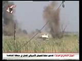 Ирак подрыв танка