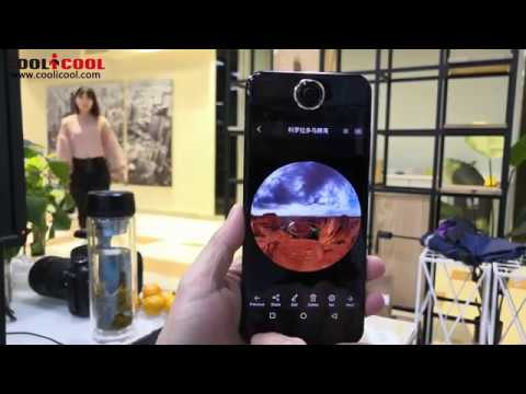 PROTRULY Darling V10S Unboxing 360 Camera Phone