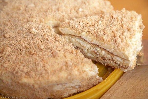 Бисквитный торт простой с фото