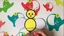Развивающие видео и игры для детей - Игры по методике Монтессори - Шнуровка - Пчелка ищет полоски