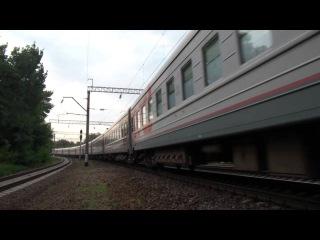 ЭП1М-402 с поездом №237 Анапа — Москва