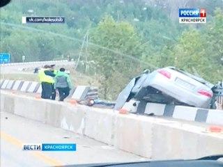 В ДТП на трассе Красноярск-Енисейск погибли два человека
