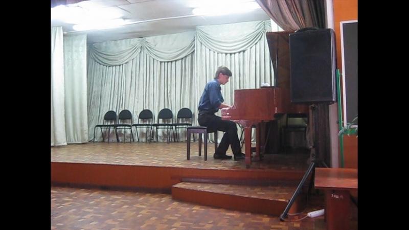 А.Н.Скрябин. Прелюдия № 1.op.17