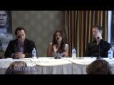Ванесса Хадженс, Николас Кейдж  и Скотт Уокер на пресс-конференции фильма