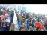 В Уральск е в ходе матча болельщики протестовали за зарплату своего клуба