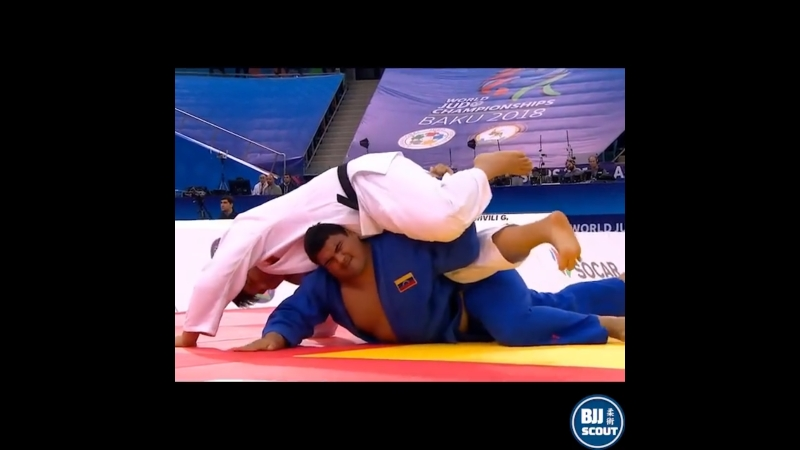 BJJ Scout Кимура супертяжей - самая лучшая кимура. 2018 World Judo Championships.