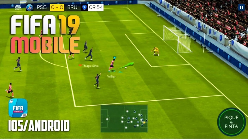 FIFA 19 MOBILE - iOS / Android - FIRST BETA GAMEPLAY