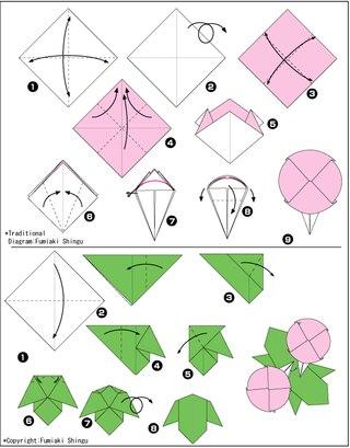 "Оригами ""Кувшинка"""