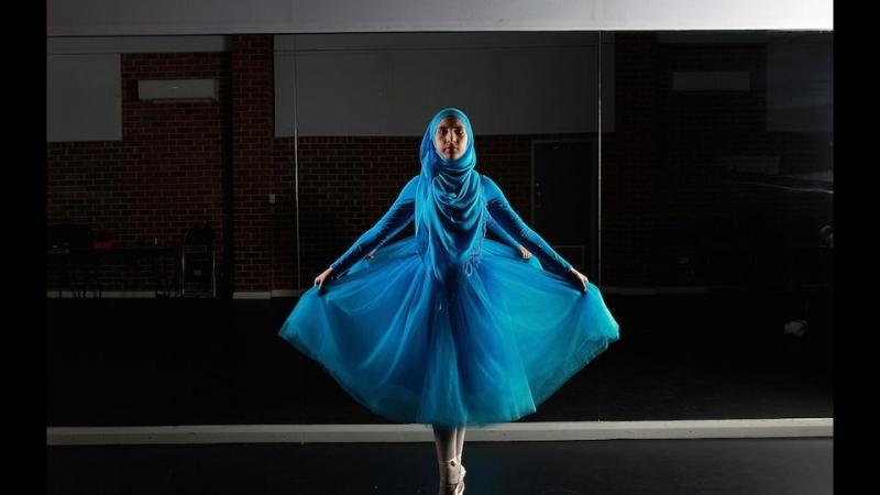 Стефани Курлоу – первая балерина в хиджабе