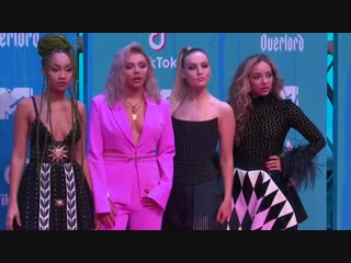 Little Mix  represent girl power on EMA red carpet