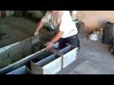 Как сделать форму для шлакоблоков и бетонита