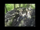 HD Time lapse 2 Раскопки Блиндажа Excavations of German dugout