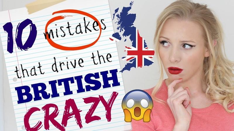 10 Grammar Errors that Drive British People CRAZY | British English Grammar Lesson Spon