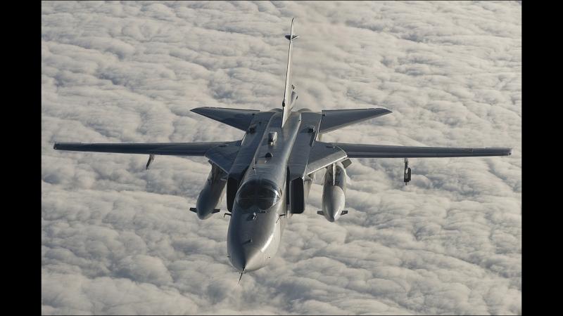 Британские истребители перехватили российский Су-24 над Черным морем